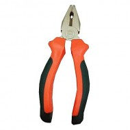 Pliers Steel Combination 8-Inch  (Orange and Grey)