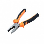 Pliers Steel Combination 7-Inch  (Orange and Black)