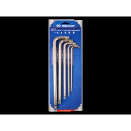 King Tony Spline Long Wrench Set 5pcs.
