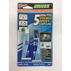 Hardex 5 Minutes Steelweld Epoxy Compound