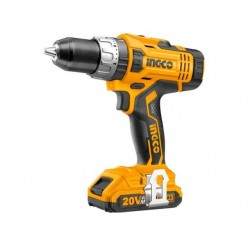 Ingco Battery Drill, 20V, 1Battery