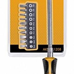 INGCO Flexible Shaft Screwdriver Set 12Pcs