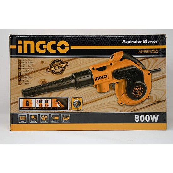 INGCO Aspirator Blower with Vacuum Function 800W