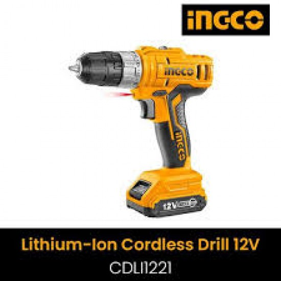 Ingco Cordless Screwdriver -12 v