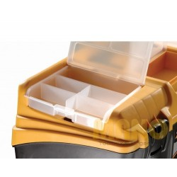 "Mano Racked Suitcase 17"" BL.O-17"