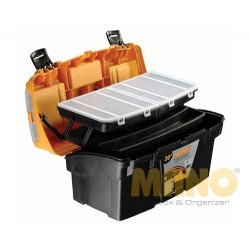 "Mano Racked Suitcase 20"" BL.O-20"