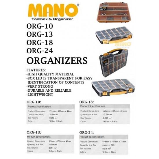 "Mano Organizer 24"" ORG-24"