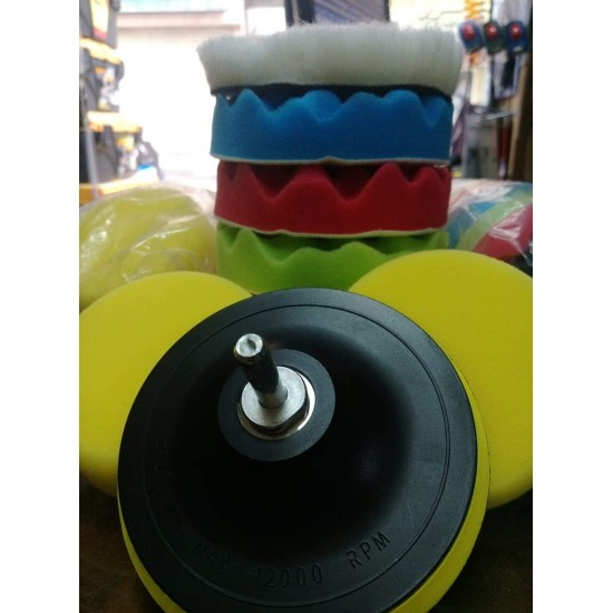 Car Polishing Sponge Set 6 Pieces 5 Inch