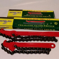 Chain Pipe Wrench 9""