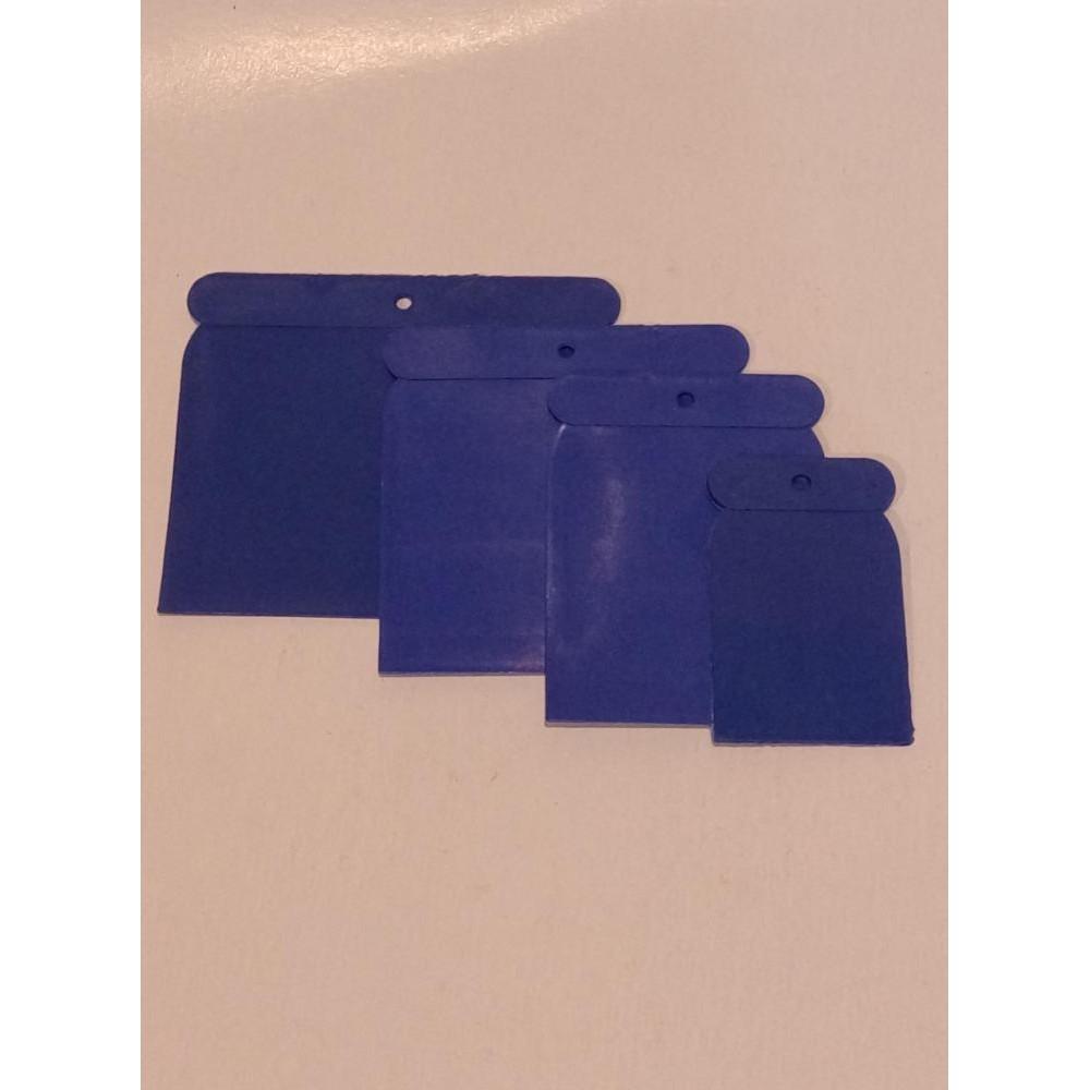 4Pcs Set Plastic Scraper