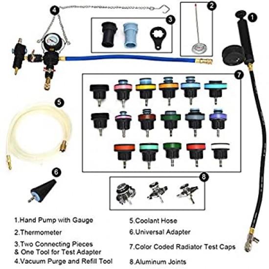 Radiator leak detector 28 pieces