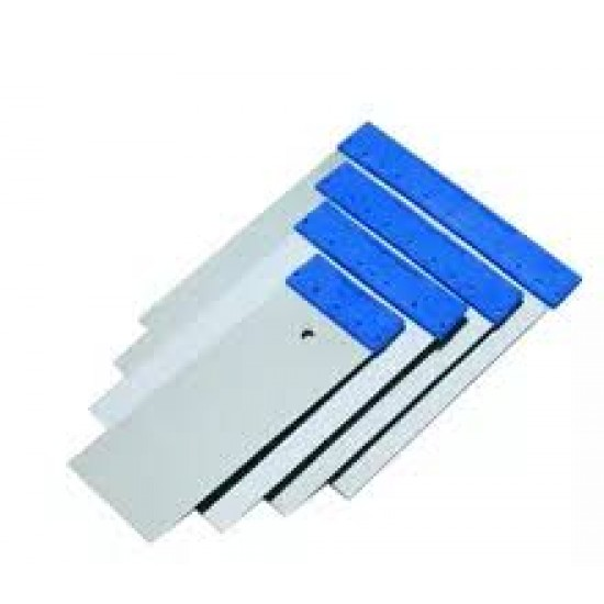 4Pcs Set Scrapers W Steel Blade