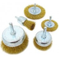 Wire Brush For Drill - 5 Piece