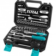 Total Socket Set 45 PCS 1/4 inch