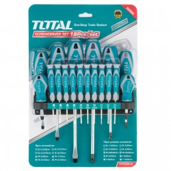 Total 18 Pcs screwdriver and precision screwdriver set