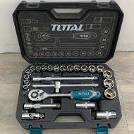 Total Tools Socket Set 25 Pcs 1/2inch