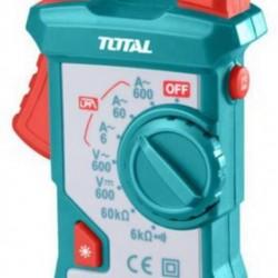 Total Tools Digital AC Clamp Meter 600V-200A