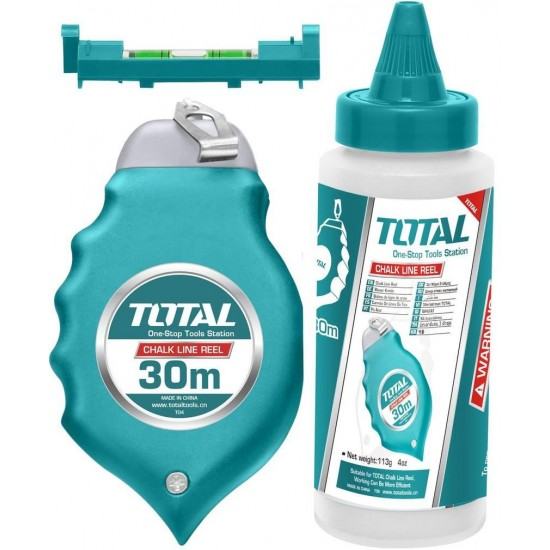 Total Tools Chalk Line Reel