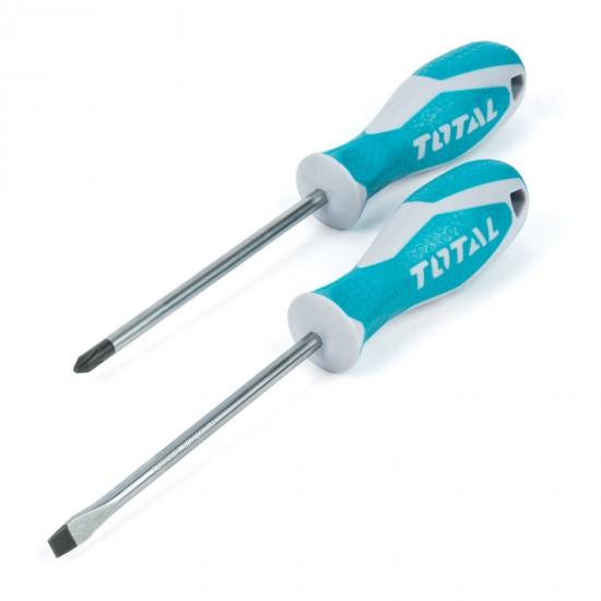 Total Tools Screwdriver Set 2PC
