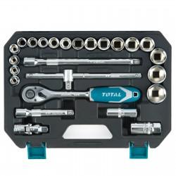 Total Tools Socket Set 25 Pcs 1/2inch