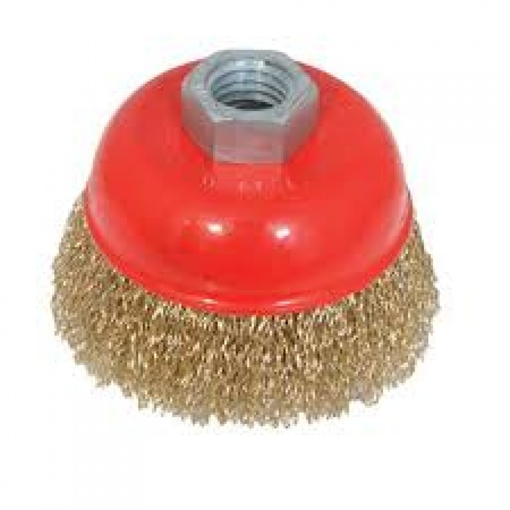 Wire Cup Brush for Grinder 3 inches