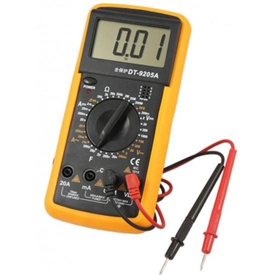 Digital Multimeter Voltmeter Avometer DT-9205A