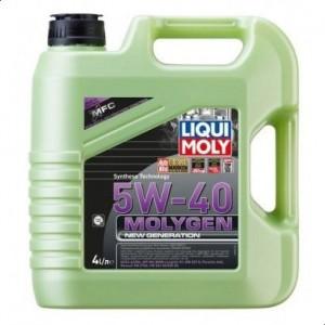 Liqui Moly Molygen Oil 5w-40, 4 Litres