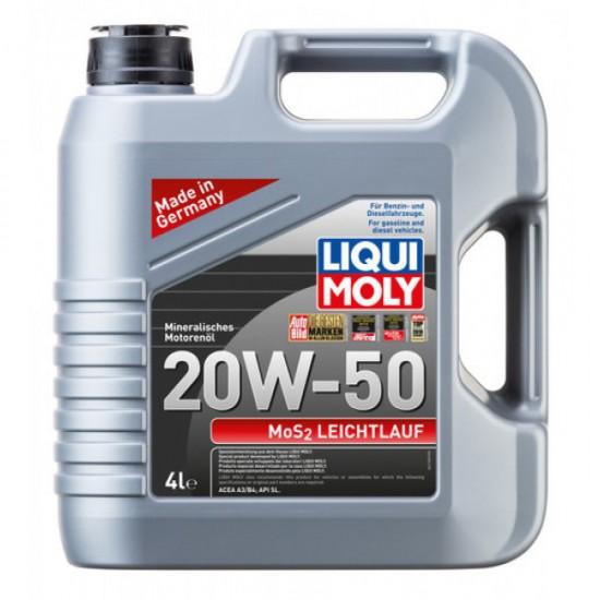 Liqui Moly Mos2 Low-Friction 20W-50 4L