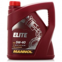 Mannol Elite Fully Synthetic Motor Oil 5W-40- 4Liter