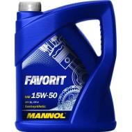 Mannol Favorit 15W-50 4L