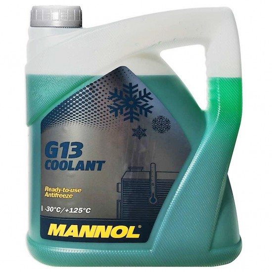 Mannol G13 Coolant Antifreeze Ready-to-use 5L