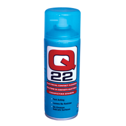 Q Oil Q22400-S Industrial Automotive Q22 Contact Cleaner 400ml Single