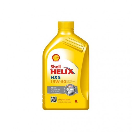 Shell Engine Oil HX5 15W-50 1L