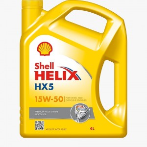 Shell Engine Oil HX5 4 Liters (15W-50)