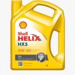 Shell Engine Oil HX5 4 Liters (15W-50)