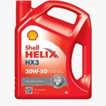 Shell Helix Engine Oil HX3 4 Liters (20W-50)