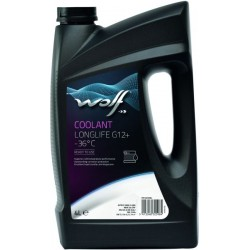 Wolf Coolant Longlife G12+ -36C Red 4L