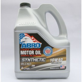 Abro Motor Oil Synthetic 10W40 4L