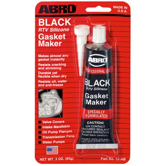 Abro RTV Silicone Gasket Maker Black