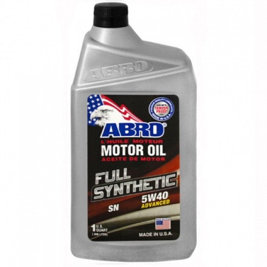 Abro Motor Oil Full Synthetic 5W40 1L