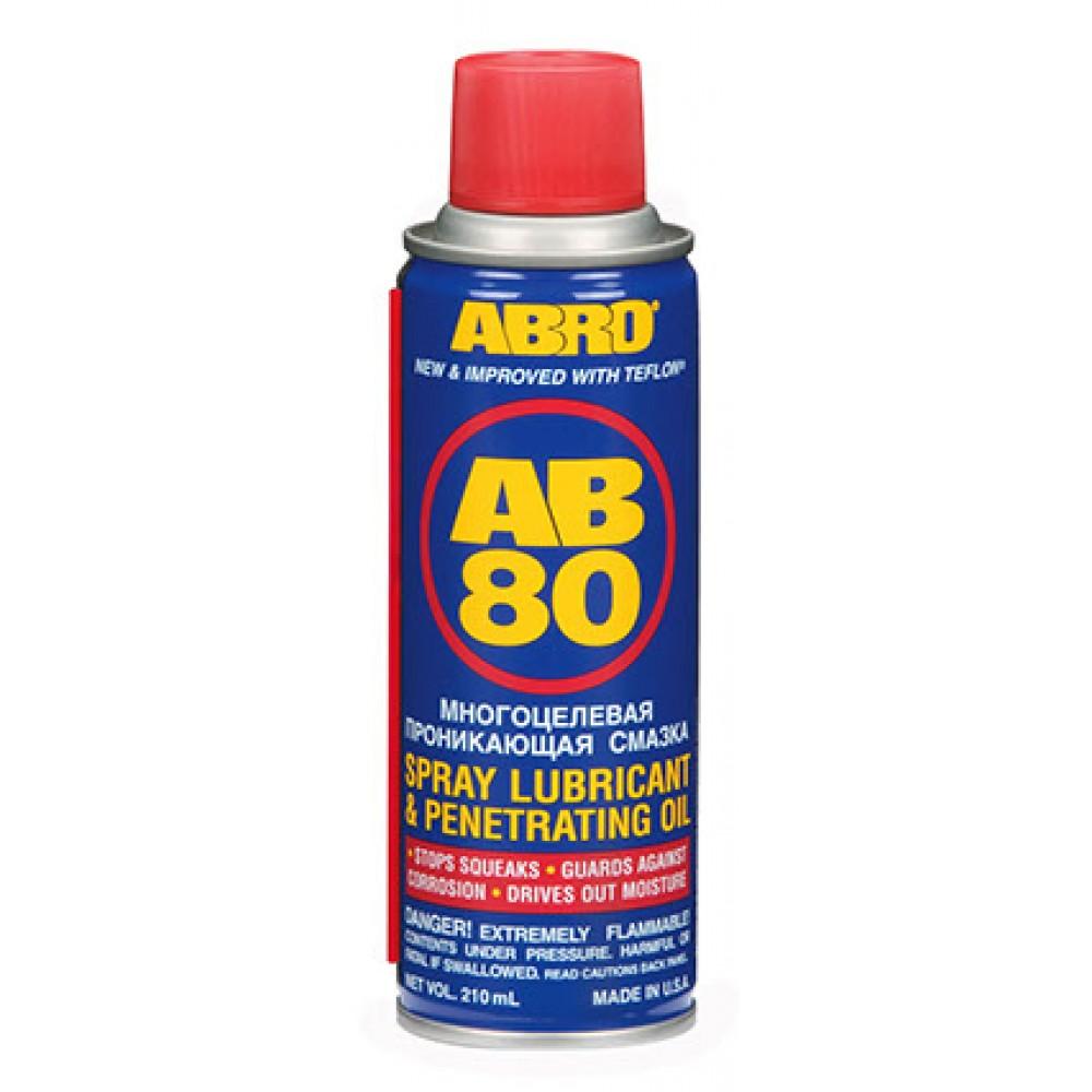 Abro AB-80 Spray Lubricant 210mL
