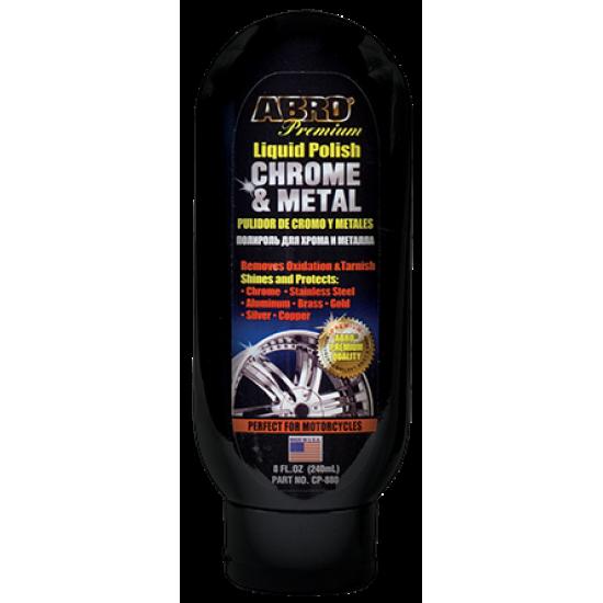 Abro Chrome and Metal Polish