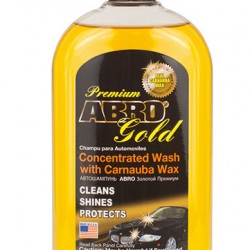 Abro Premium Gold Car Wash 472mL
