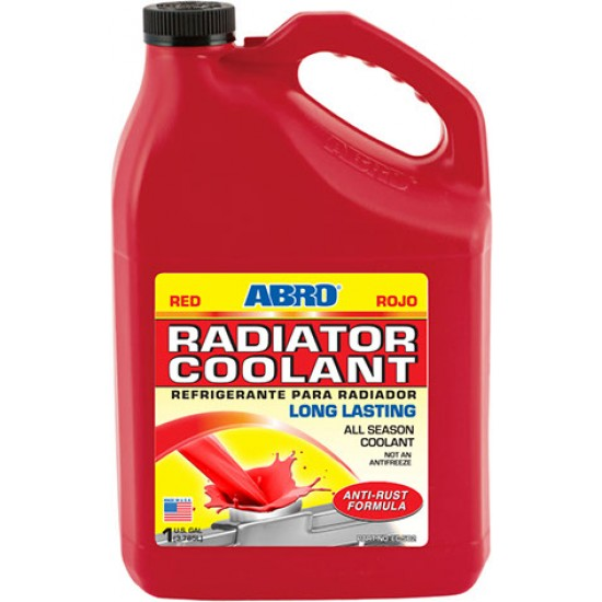 Abro Radiator Coolant Red