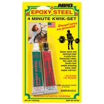 Abro Epoxy Steel 4-Minute Kwik-Set