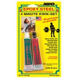 Abro Epoxy Steel 4-Minute Kwik-Set