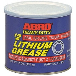 Abro #2 Heavy-Duty Lithium Grease