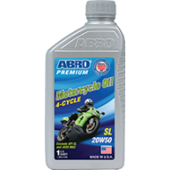 Abro 5000 Motorcycle Oil 4-cycle 20W50