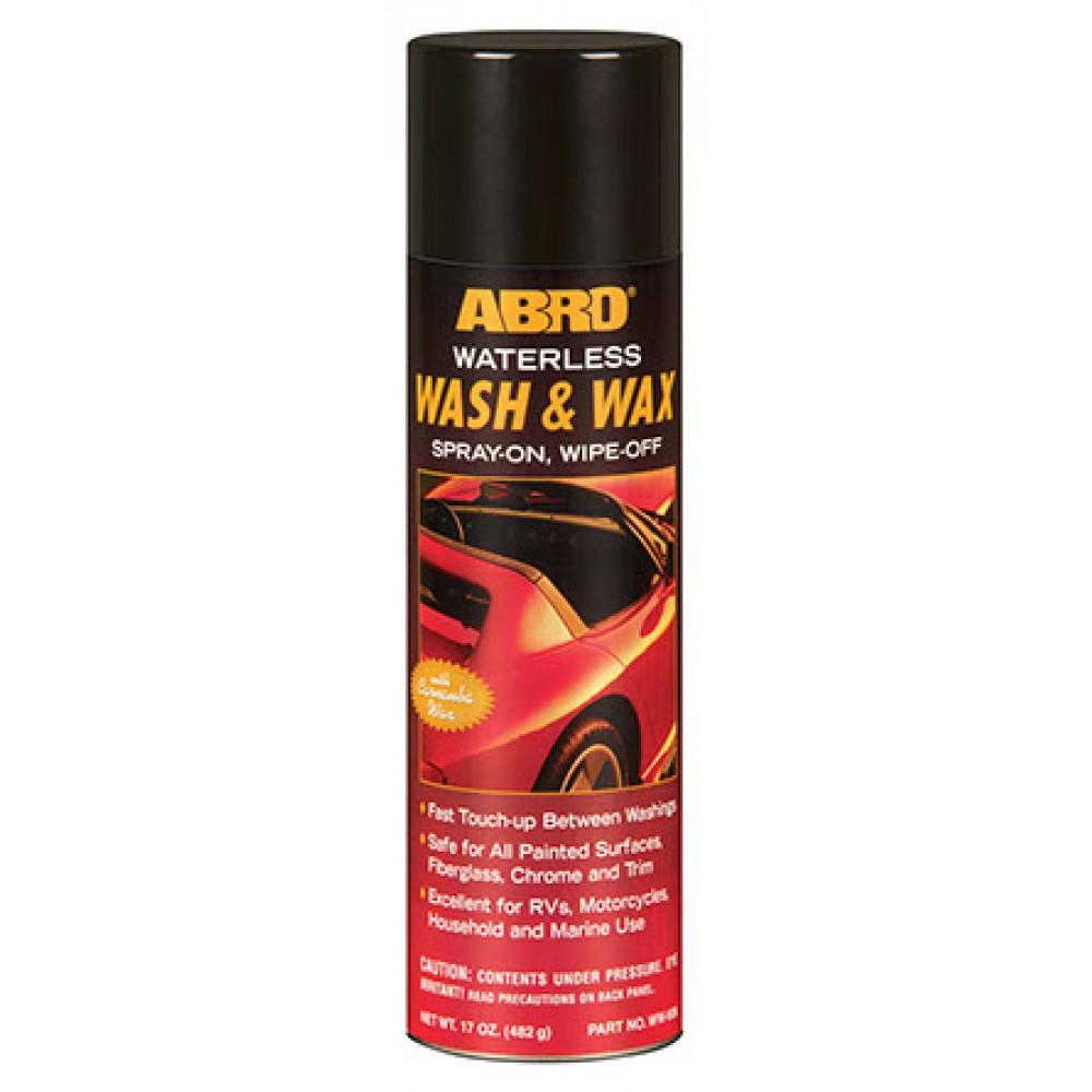 Abro Waterless Wash and Wax