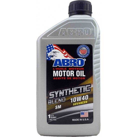 Abro Motor Oil Synthetic 10W40 1L